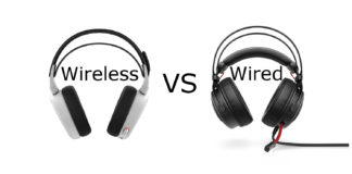 wired vs wireless PC gaming headsets