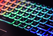 RGB Gaming Laptop Keyboard TS