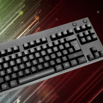 Small mechanical keyboard (without number pad)