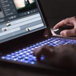 Video Editing on Laptop