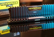 Dual Corsair Vengeance LPX DDR4 RAM Sticks